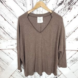 Fantastic Fawn Pullover Sweater M